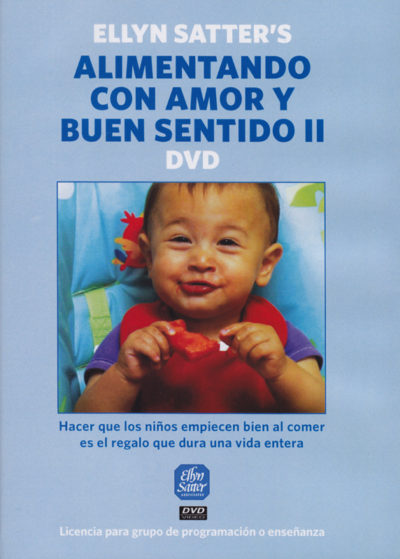 Spanish Ellyn Satter's Feeding with Love and Good Sense II DVD (group programming or teaching)-0