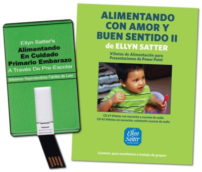 Show and tell about feeding Package (Spanish)-0