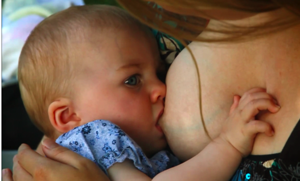 Is it okay to breastfeed on demand into the second year?