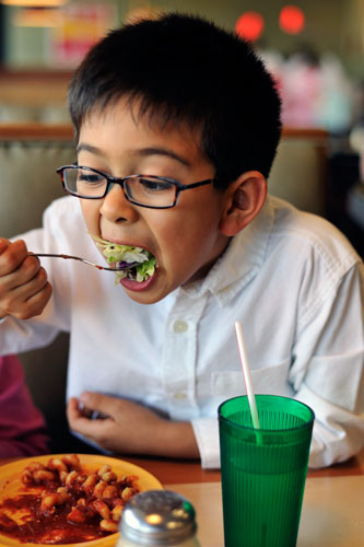 Kids and weight: Is it really about vegetables?